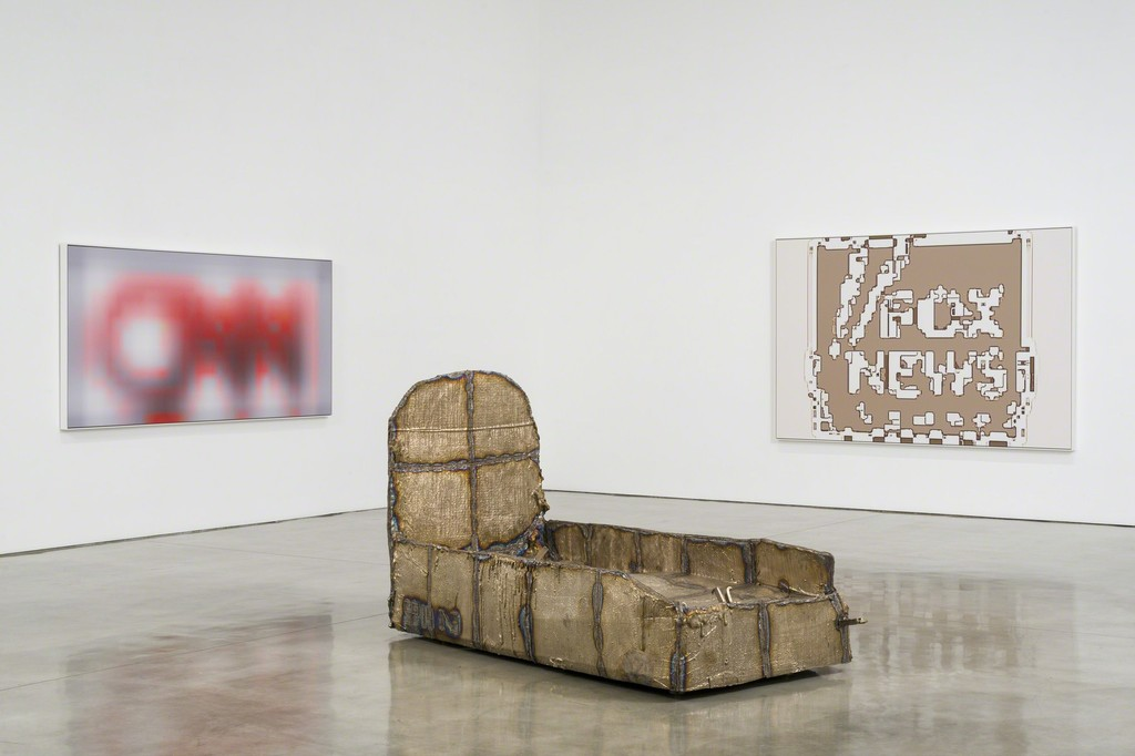 Courtesy of the artists pictured and Gagosian Gallery. Photo by Jeff McLane.