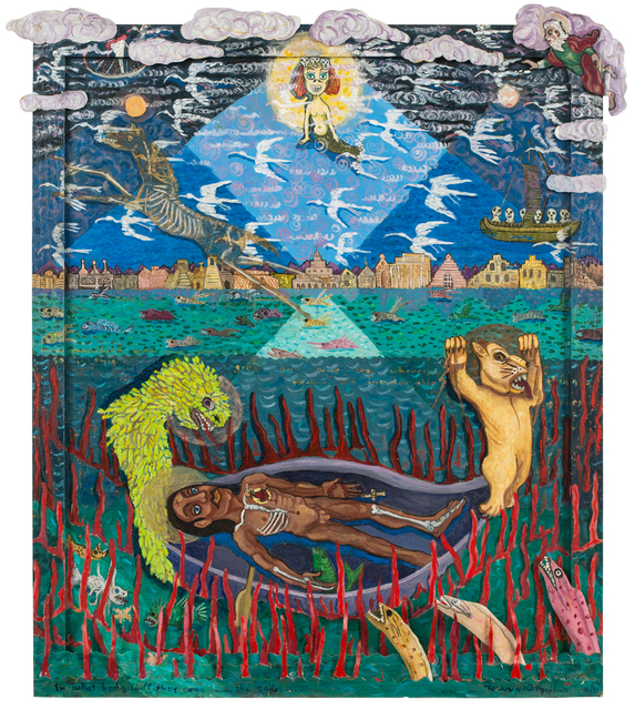 , 'And With What Body Do They Come II: El Marinero (The Sailor),' 1991, JAYJAY