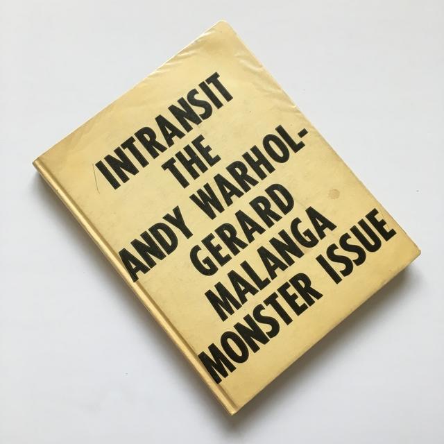 Andy Warhol, 'Intransit The Andy Warhol-Gerard Malanga Monster Issue Signed by Gerard Malanga', 1968, Joseph K. Levene Fine Art, Ltd.