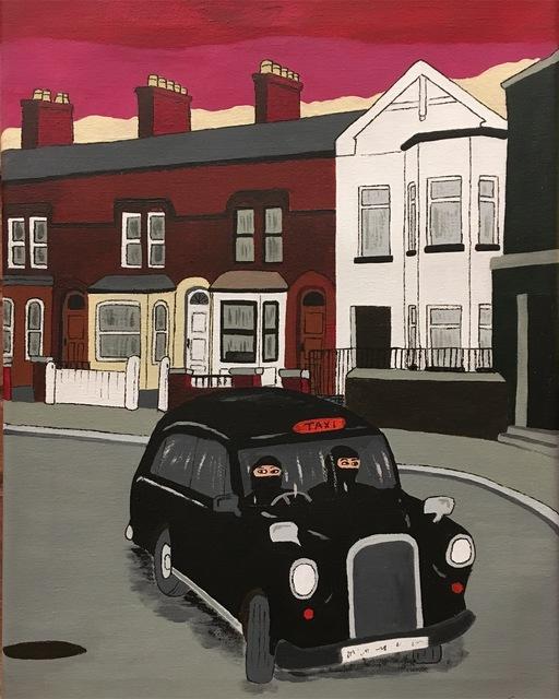 Don Hammontree, 'Trouble in Belfast, 1982', 2019, Clyde Hogan Fine Art