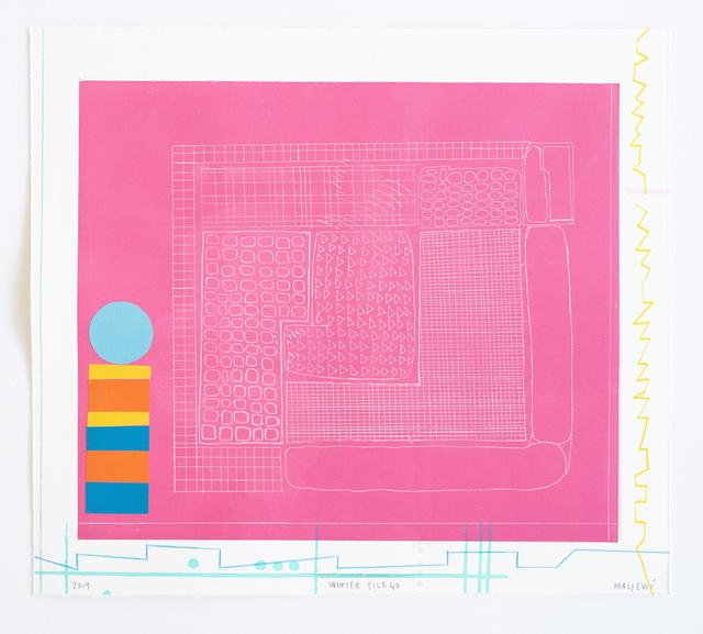 , 'Winter File 40,' 2019, David Krut Projects