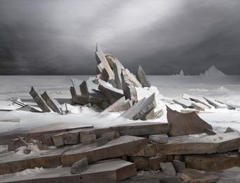 , 'Sea of Ice,' 2014, Templon