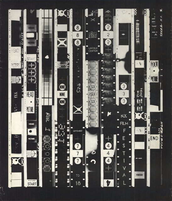 Bruce Conner, 'New York Film Festival', 1965, Posters, Offset Lithograph, ArtWise
