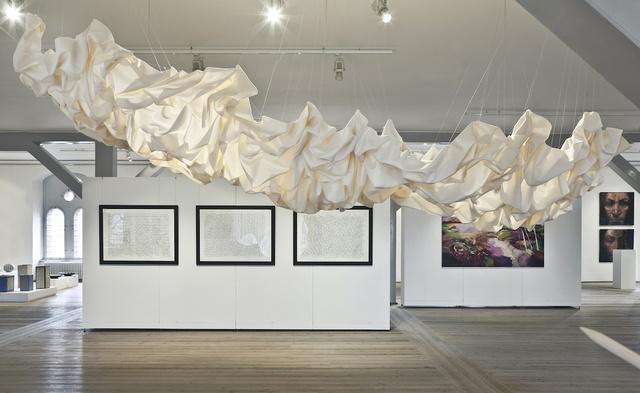 ", '""Draped Nimbostratus"",' 2013, Galerie Maria Wettergren"
