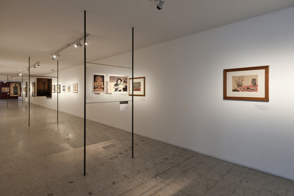 """Andrzej Wróblewski: Recto / Verso. 1948-1949, 1956–1957"", view of the exhibition, photo by B. Stawiarski"