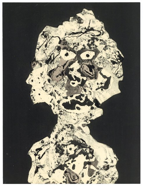 Jean Dubuffet, 'Personnages I', 1956, Artsnap