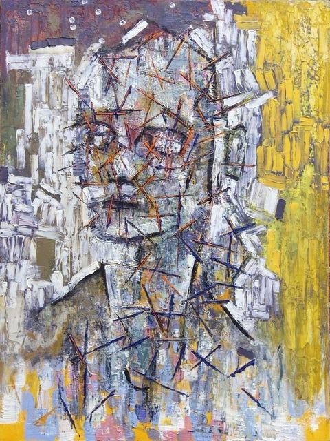 , 'Portrait with Orange Stress,' 2003, Flow 305