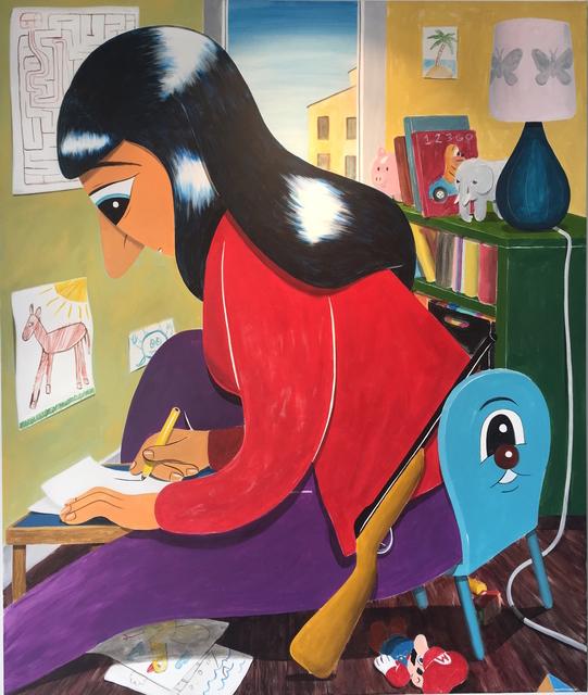 HuskMitNavn, 'Drawing Room', 2013, Galerie Droste
