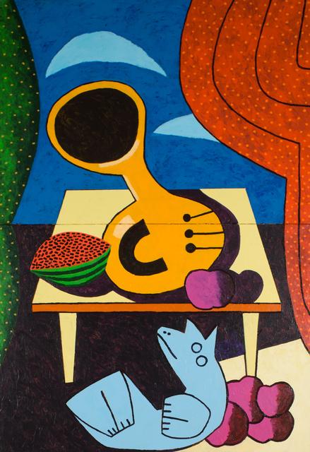 , 'Horn Concerto #4 in E Flat Major,' 2018, Les Yeux du Monde Gallery