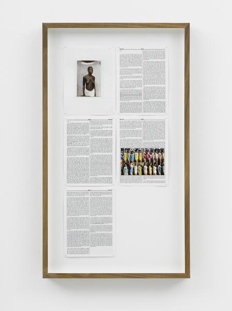 , 'Hosea,' 2013, Goodman Gallery