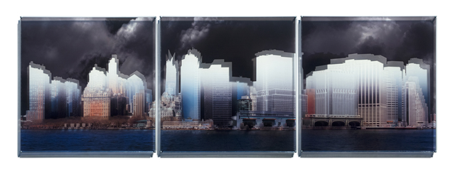 , 'New York, Skylines,' 2014, MAMAN Fine Art Gallery