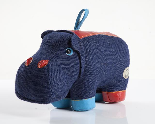 ", 'Medium ""Therapeutic Toy"" Hippopotamus ,' 1969/2012, R & Company"