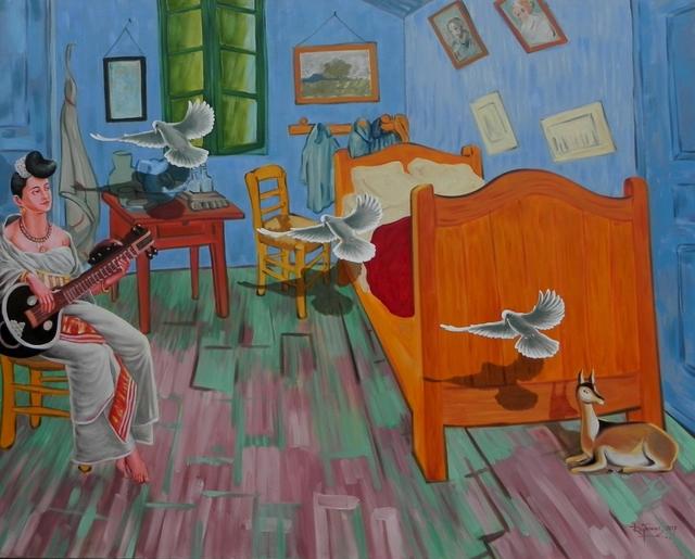 , 'Confluence -9,' 2017, Arushi Arts