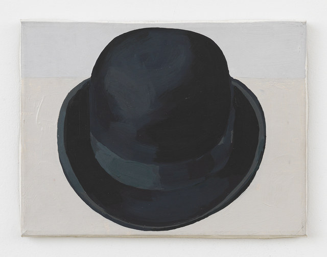 , 'Black Bowler Hat (Front View),' 1988, Johannes Vogt Gallery