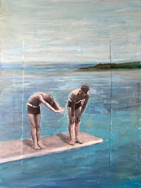 , 'Diving Lesson,' 2017, Sue Greenwood Fine Art