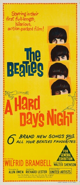 , 'A Hard Day's Night,' 1964, Artsnap