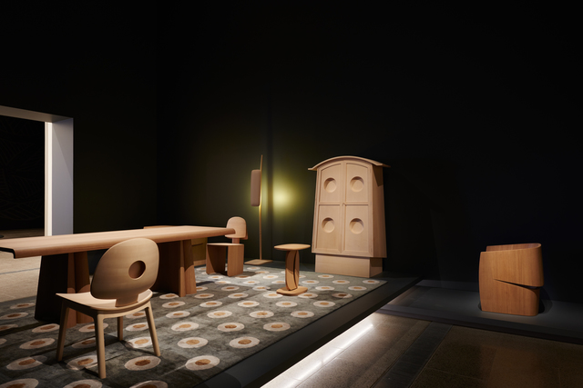 , 'Installation view of Khai Liew's work for the 2015 Riggs Design Prize,' 2015, National Gallery of Victoria