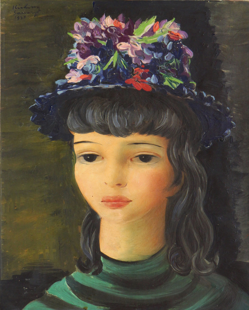 , 'Girl with flowered hat, Sanary,' 1947, galerie nichido / nca | nichido contemporary art