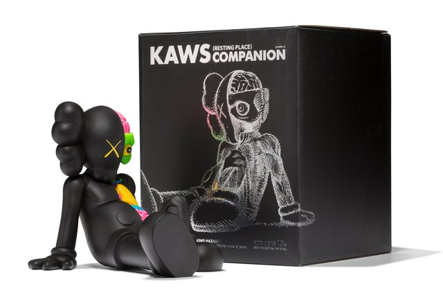 KAWS, 'Resting Place Companion (Black)', 2013, Heritage Auctions