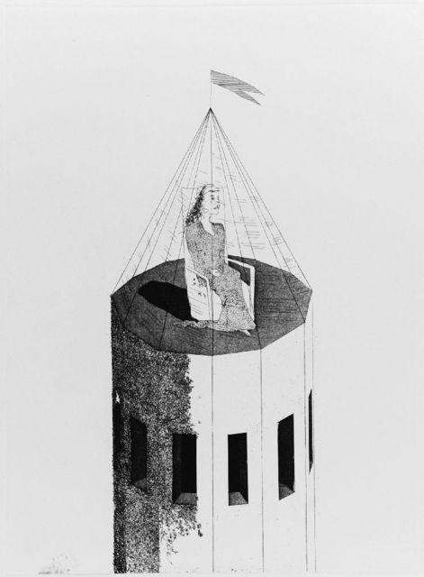 David Hockney, 'The Princess in Her Tower (T.68)', 1969, Sworders