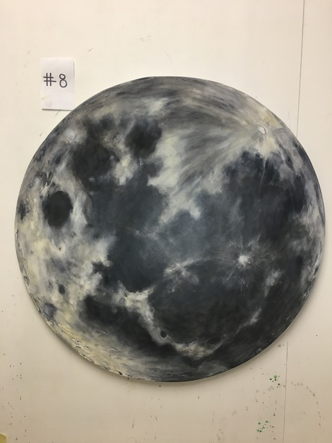 "Kurt Pio, '""Moon""', 2019, Parlor Gallery"