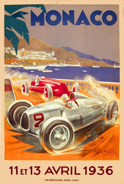 , 'Monaco Grand Prix 1936,' 1936, Omnibus Gallery