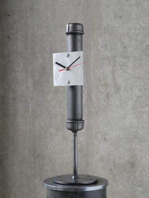 , 'Pipe-bomb Clock (small),' 2018, Galerie Krinzinger