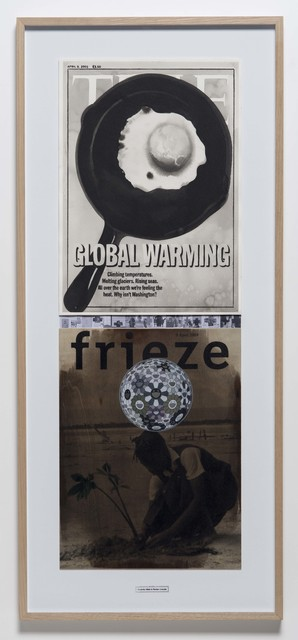 , 'April 9, 2001 (from the series DATES - for a Subjective Timeline of the Climate Change),' 2018, Christine König Galerie