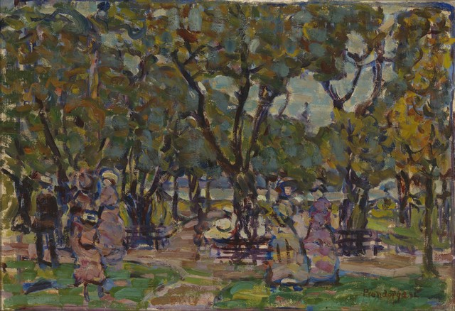, 'Figures under the Trees,' 1907-1910, Adelson Cavalier Galleries