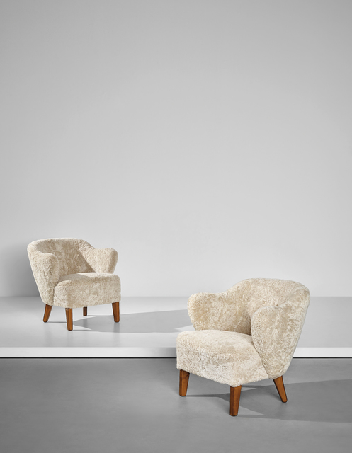 Flemming Lassen, 'Pair of armchairs', designed 1940, Phillips