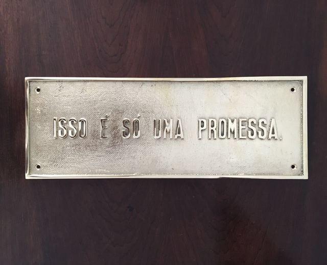 , 'Isso é só uma promessa ,' 2016, Luciana Caravello Arte Contemporânea