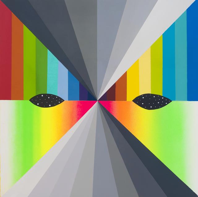 Okuda San Miguel, 'X Mask 18 (XVI)', 2018, Mirus Gallery