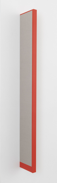 , 'The Long Red Line,' 2018, Joshua Liner Gallery
