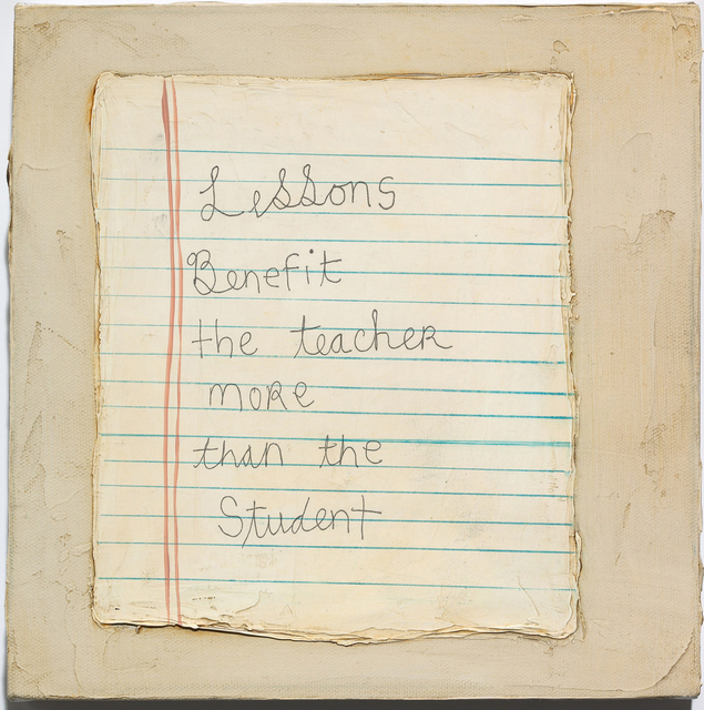 , 'Lessons,' 2009, Jane Lombard Gallery