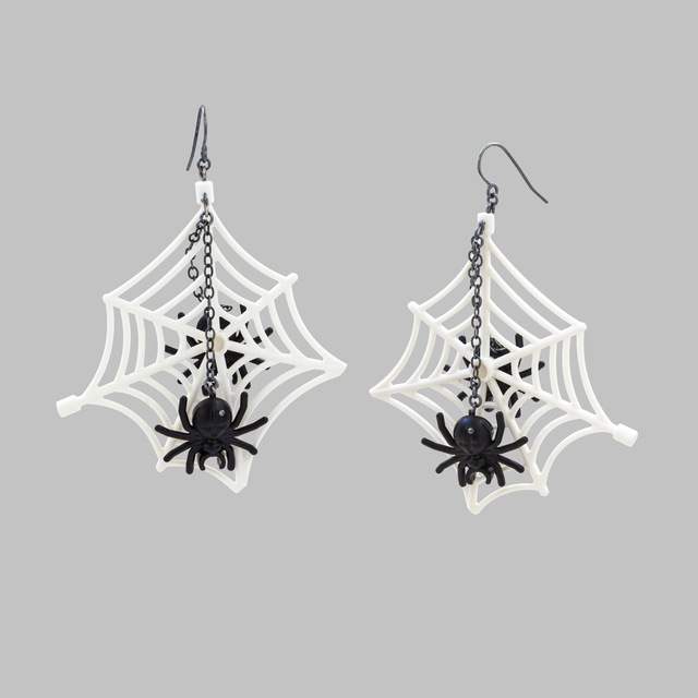 Emiko Oye, 'Wicked Web Earrings', 2017, Facèré Jewelry Art Gallery