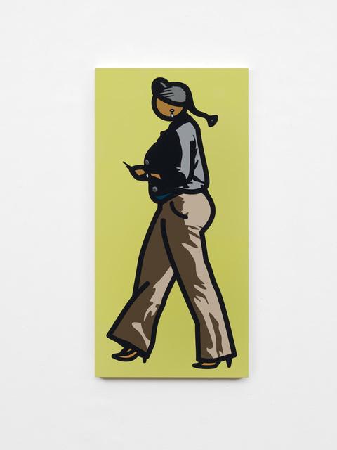 , 'Woman with braids and telephone,' 2012, Galeria Mário Sequeira