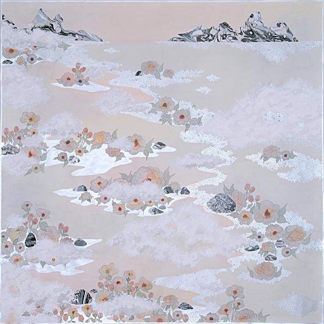 , 'the fog, ''like the lulling waves'',' 2019, Galerie du Monde