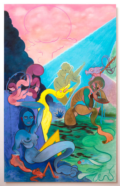 , 'Standing Bathers,' 2017, Alter Space