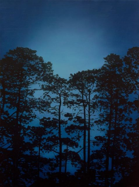 , 'Illuminated Pines ,' 2017, OLSEN GALLERY