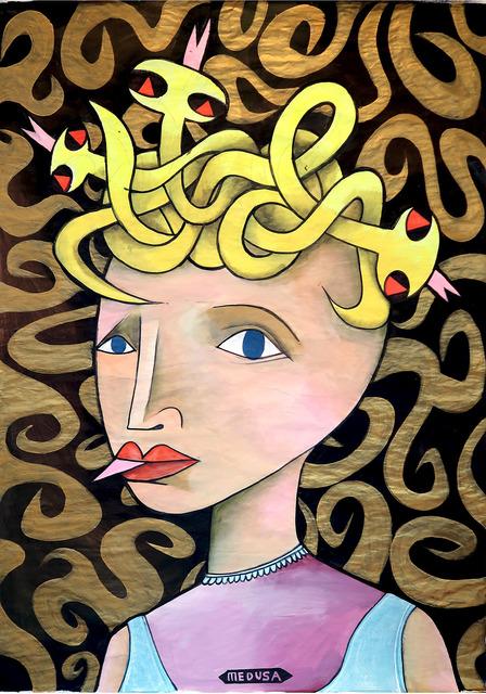 , 'Medusa,' 2016, Joerg Heitsch Gallery
