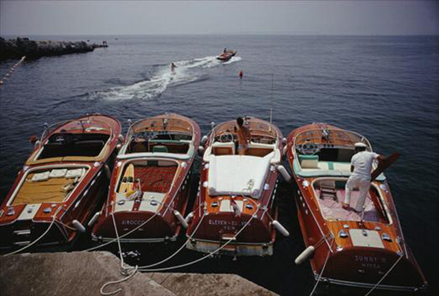 , 'Waterskiing from the Hotel Du Cap-Eden-Roc in Cap d'Antibes, France,' 1969, Undercurrent Projects