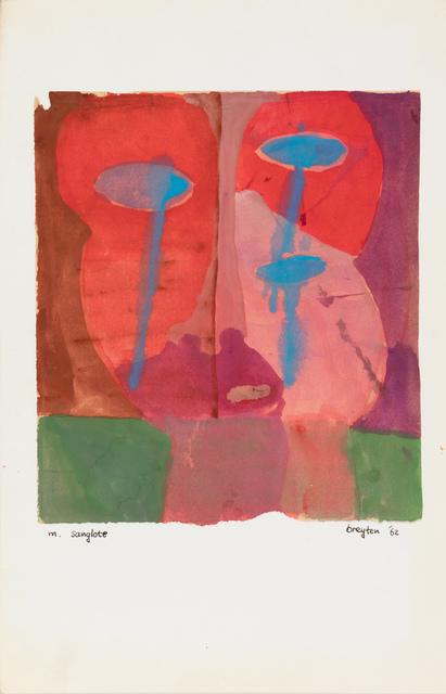 , 'm. sanglote,' 1962, Stevenson