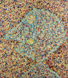 Jackson Pollock's portrait