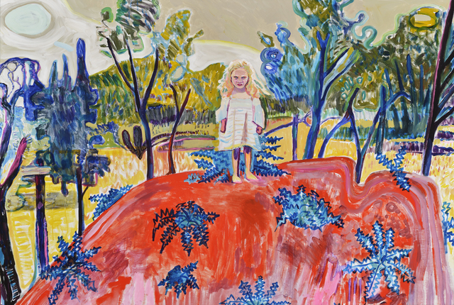 Elizabeth Chapin, 'Dandelion Hill', 2018, Painting, Acrylic on canvas, Wally Workman Gallery