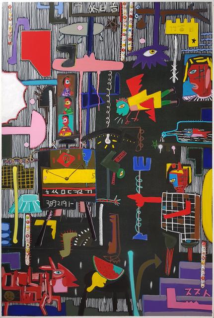 , 'Black Series   I think that happen in the dark,' 2018, Crossing Art
