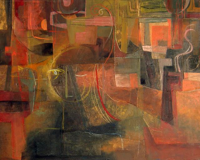 , 'Dark Klee with Face,' 1951, Benjaman Gallery Group