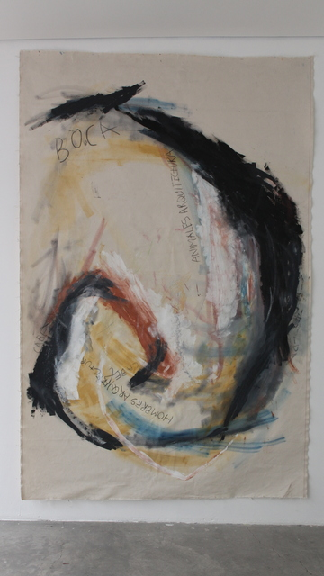 , 'Gramática del ritual II,' 2017, Parque Galería