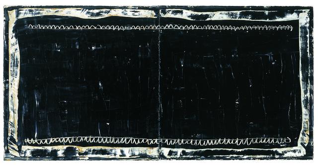 , 'Diptic Negre,' 2004, Mario Mauroner Contemporary Art Salzburg-Vienna