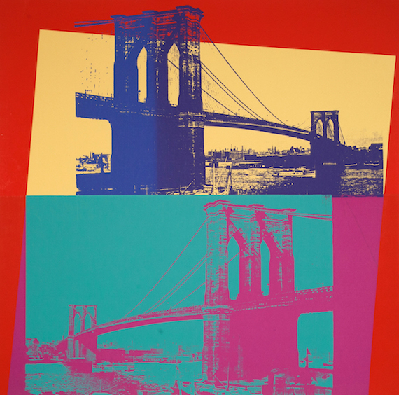 Andy Warhol, 'Brooklyn Bridge', 1983, Taglialatella Galleries