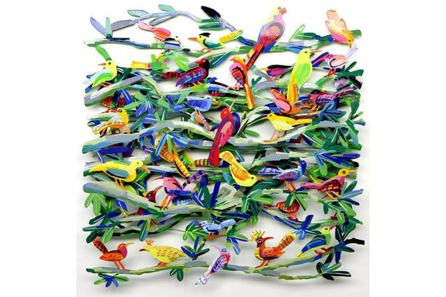 David Gerstein, 'Exotic Birds', 2006, Kapopoulos Fine Arts